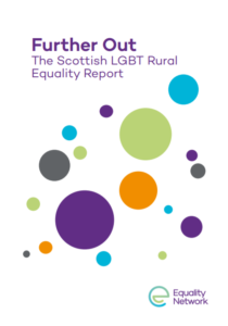 Image of front cover of Further Out LGBTI Rural Report.